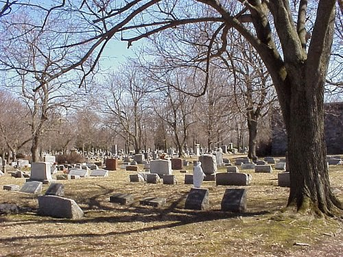 An image of inside of Wood Family Cemetry