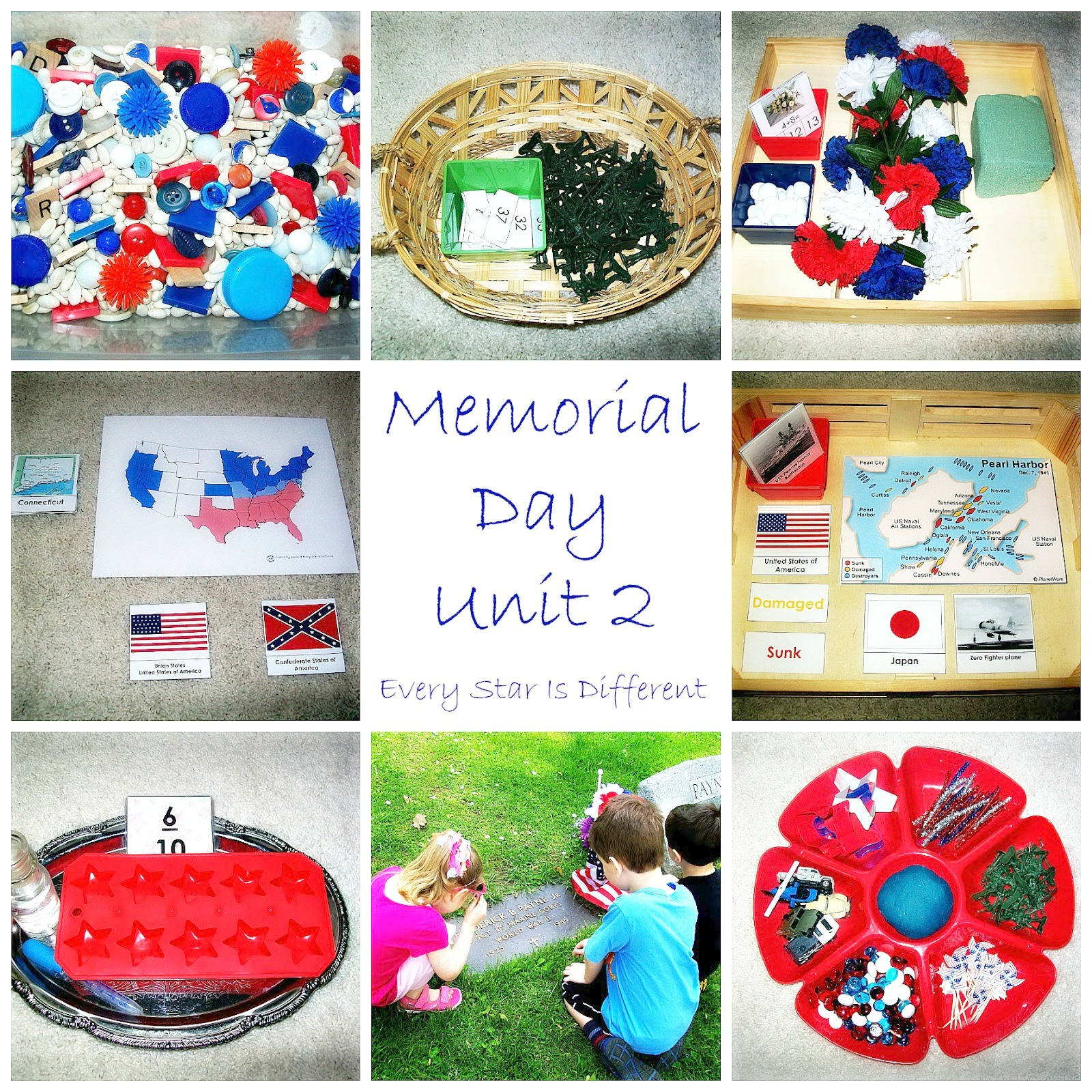 Memorial Day Activities With Free Printables