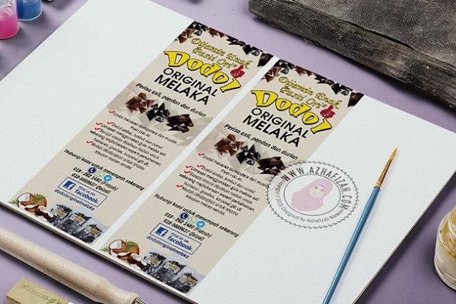 Design Bunting Dodol Original Melaka