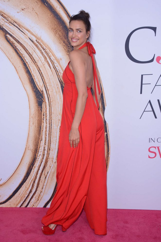 Irina Shayk – 2016 CFDA Fashion Awards in New York