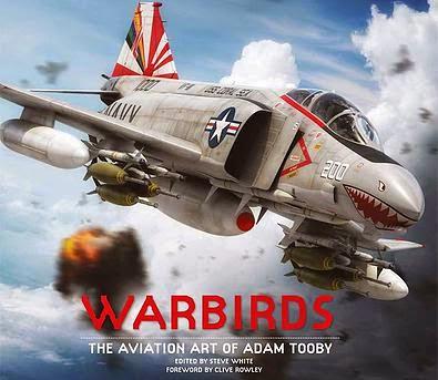 El arte de aviación de Adam Tooby