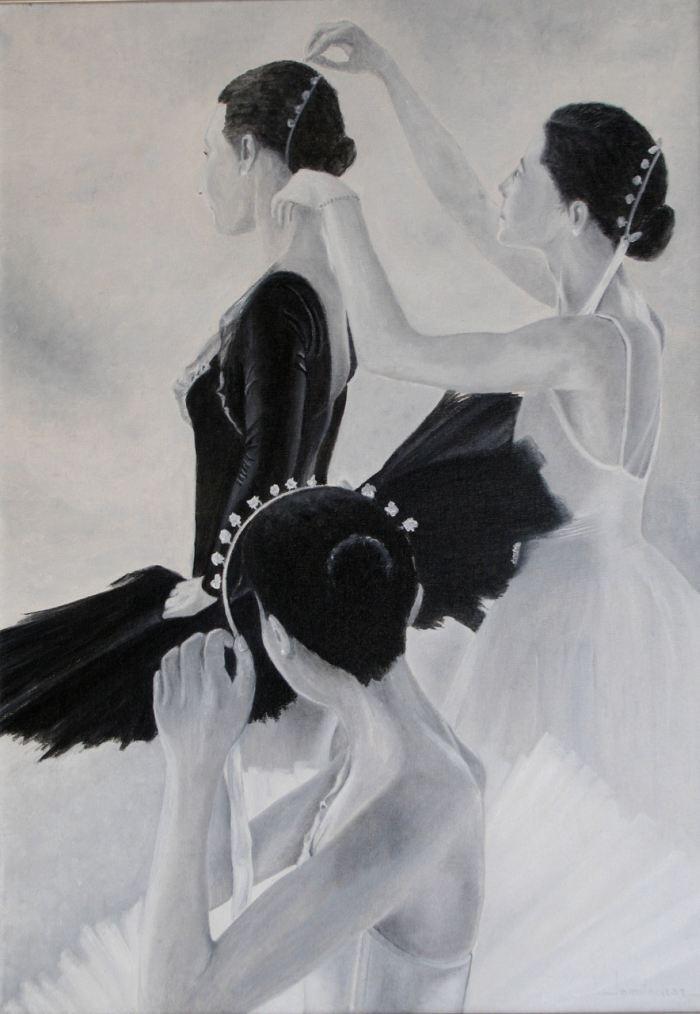 Черно-белые цвета. Paco Lominchar