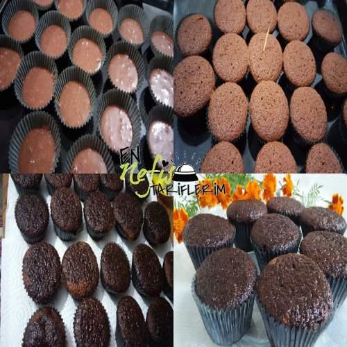 Kakaolu Islak Cupcake Malzemeleri