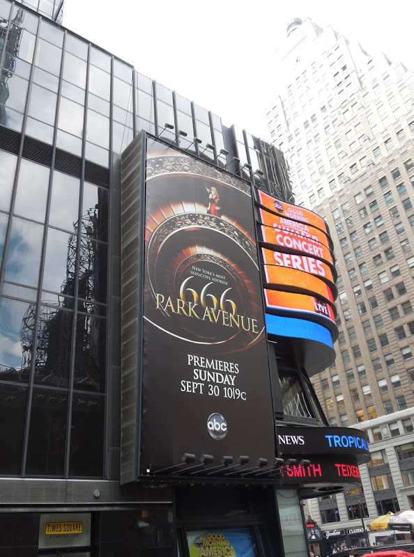666 Park Avenue billboard Times Square NYC