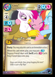 My Little Pony Gilda, Amended Friend High Magic CCG Card