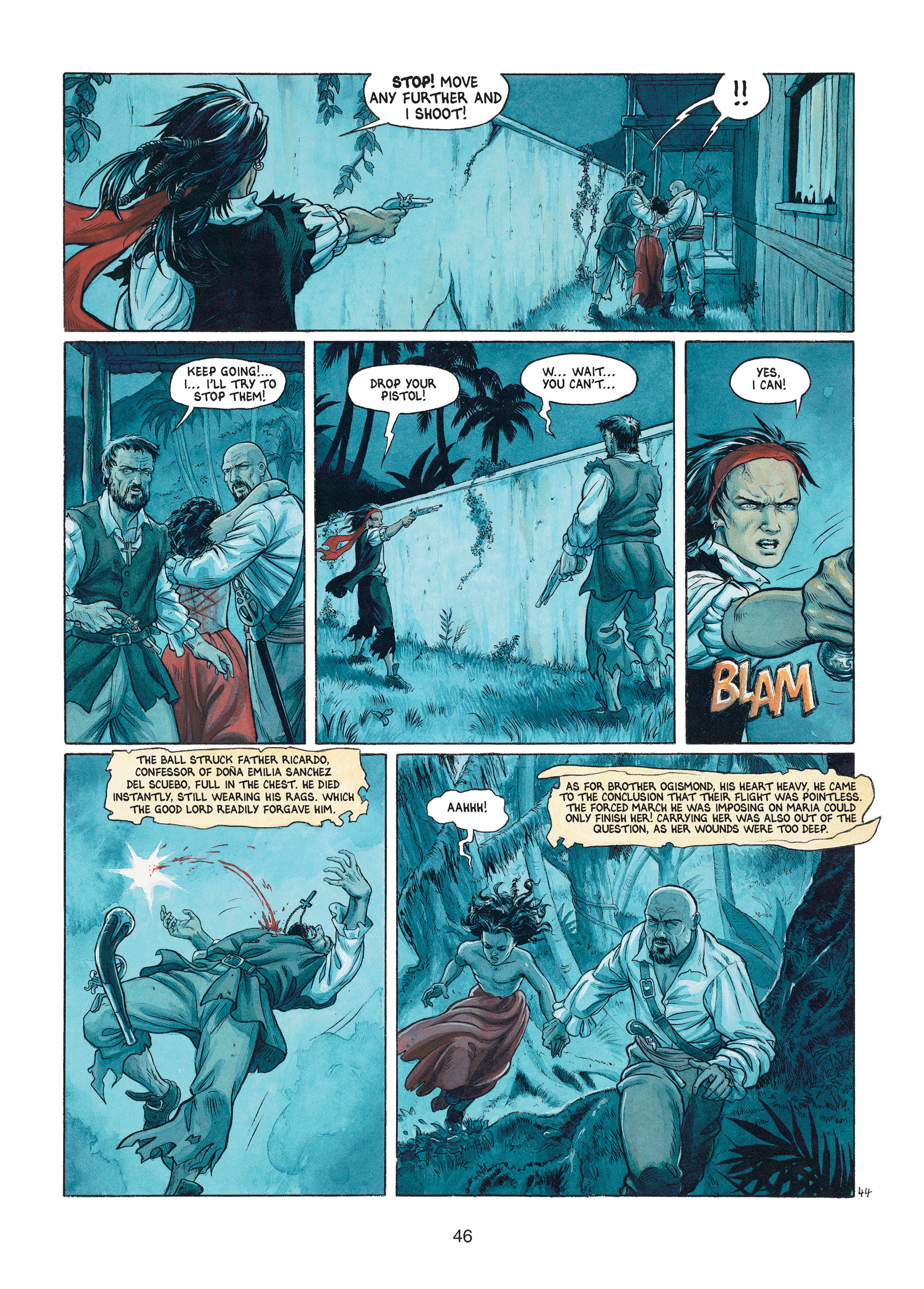 Read online Barracuda comic -  Issue #1 - 46