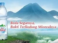 Mengenal Lebih Dekat Air Minum Mineral  Le Minerale