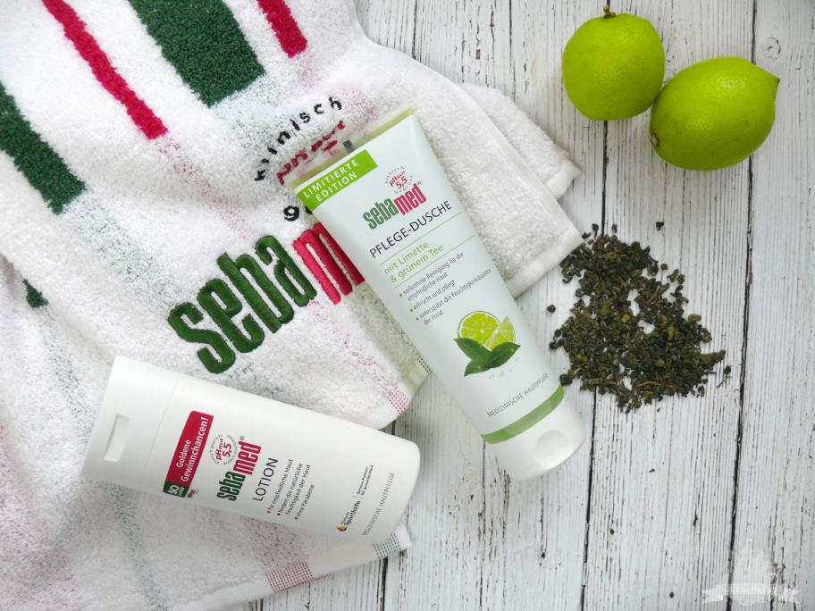 Sebamed Pflege Dusche Limette Grüner Tee & Lotion