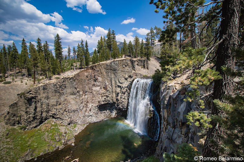 Rainbow Falls Things to Do in Mammoth in Summer