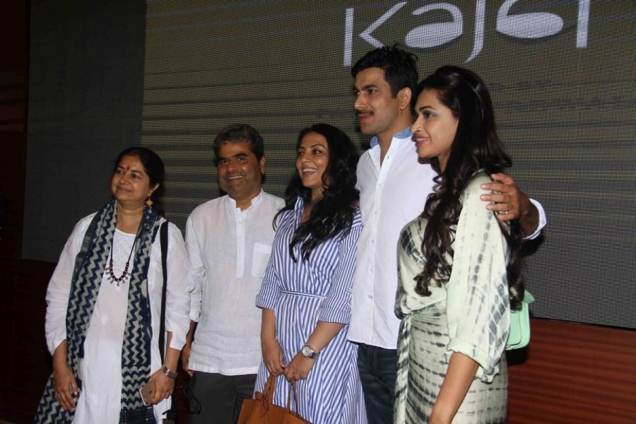 Salony Luthra and Pakhi Tyrewala Spotted at Kajal Short Film Screening