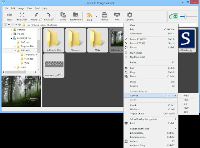 تحميل برنامج تحرير الصور للكمبيوتر FocusOn Image Viewer