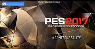 DLS 2016 Mod PES 2017 Apk + Obb Android