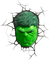 Super Heróis - Rosto do Hulk