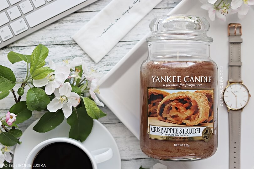 yankee candle crisp apple strudel