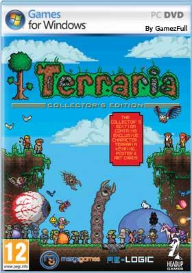 Descargar Terraria Ultima versión 2019 pc español mega y google drive
