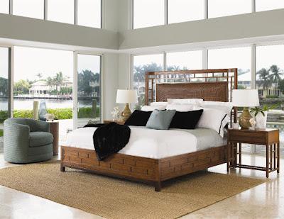 Ocean Club bedroom set by Tommy Bahama