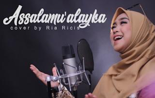 Download Lagu Ria Ricis Assalamu'alaika MP3 (3.53MB) Cover Terbaru 2018,Ria Ricis, Cover, Lagu Religi,