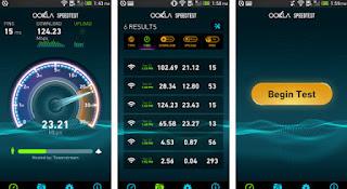 Aplikasi Tes kecepatan internet Speedtest.net Apk | aqilsoft