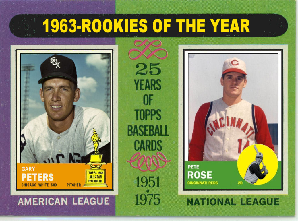 Cards That Never Were 1975 Topps 1963 Rookies Of The Year