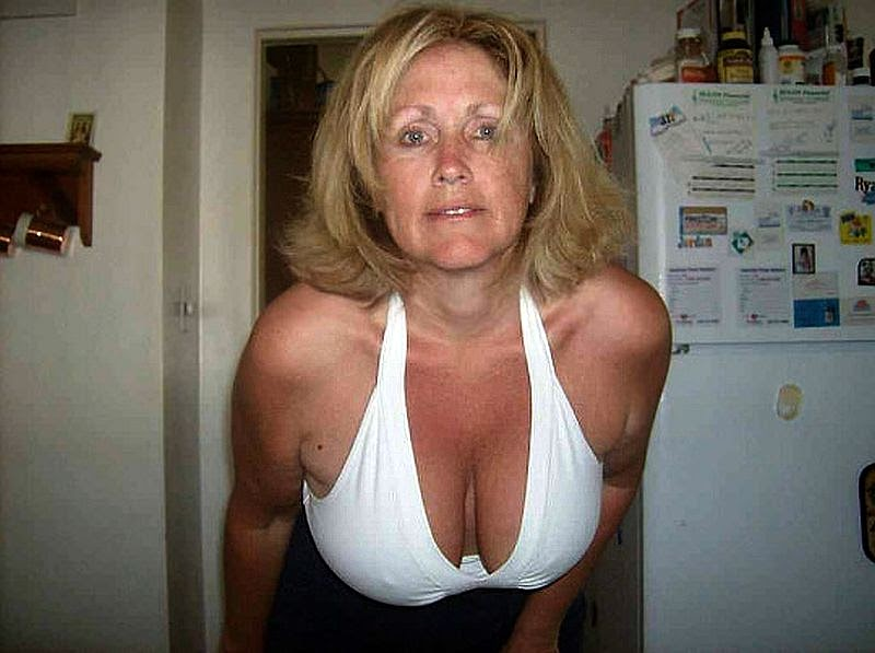 Milf with big tan line tities