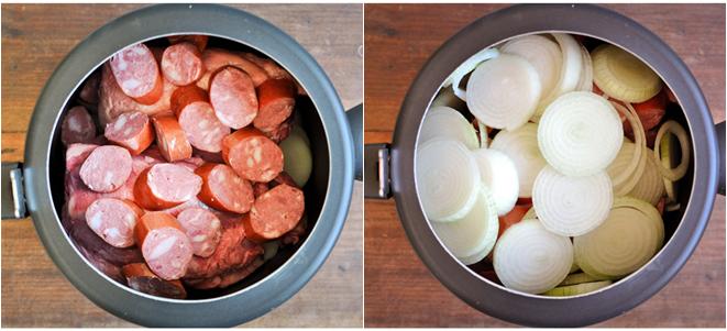 como preparar carne cebola panela pressão