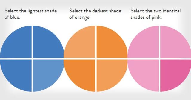 Solo l'1% della popolazione è in grado di superare a pieni voti questo test della percezione dei colori