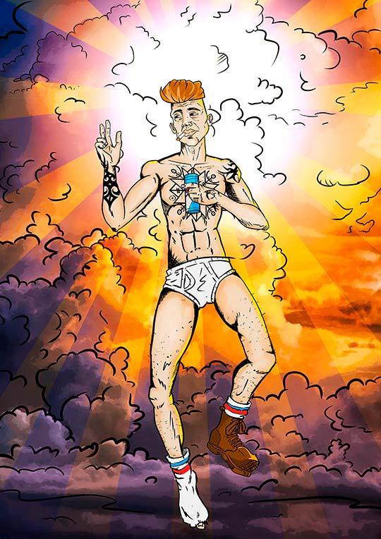 Ilustración de Gilberto García Jr.