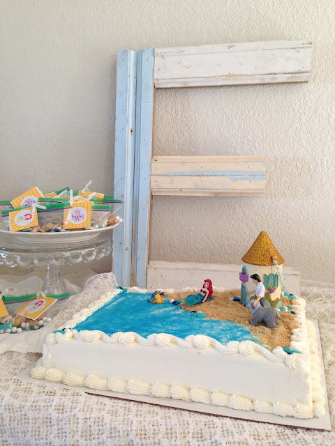 Little Mermaid Cake tutorial