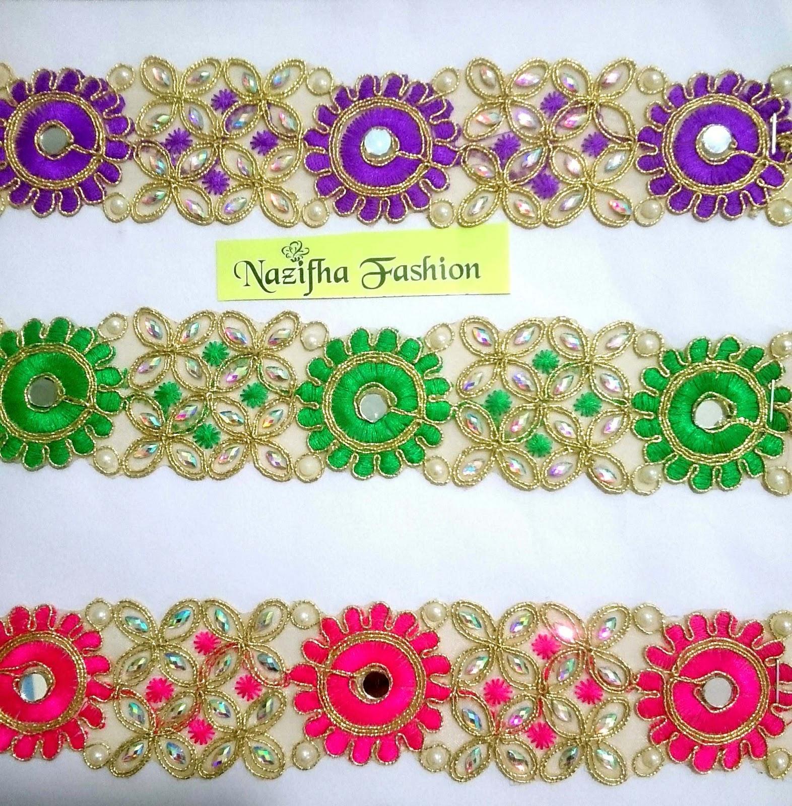 Fancy Embroidery Neck Design In Surat Gujarat India