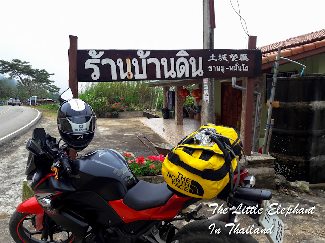 Motorbike riding in Thailand