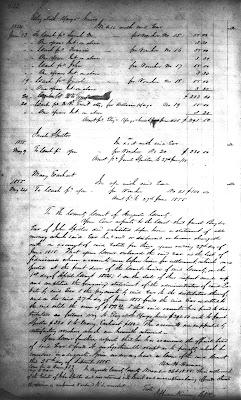 John Spitler Executor's Account, Augusta Co., VA, WB 34, p 632