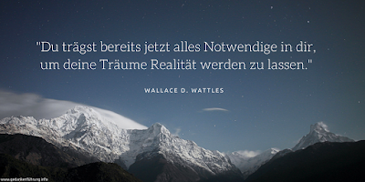 Wallace Wattles Zitat
