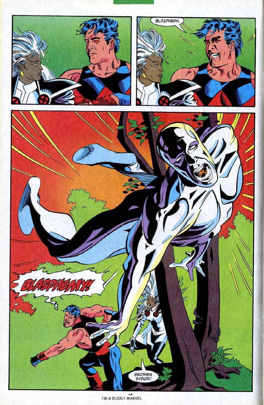 Read online Silver Surfer (1987) comic -  Issue #85 - 12