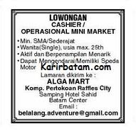 Lowongan Kerja Minimarket Alga Mart