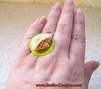 Beautiful Food Rings Photos