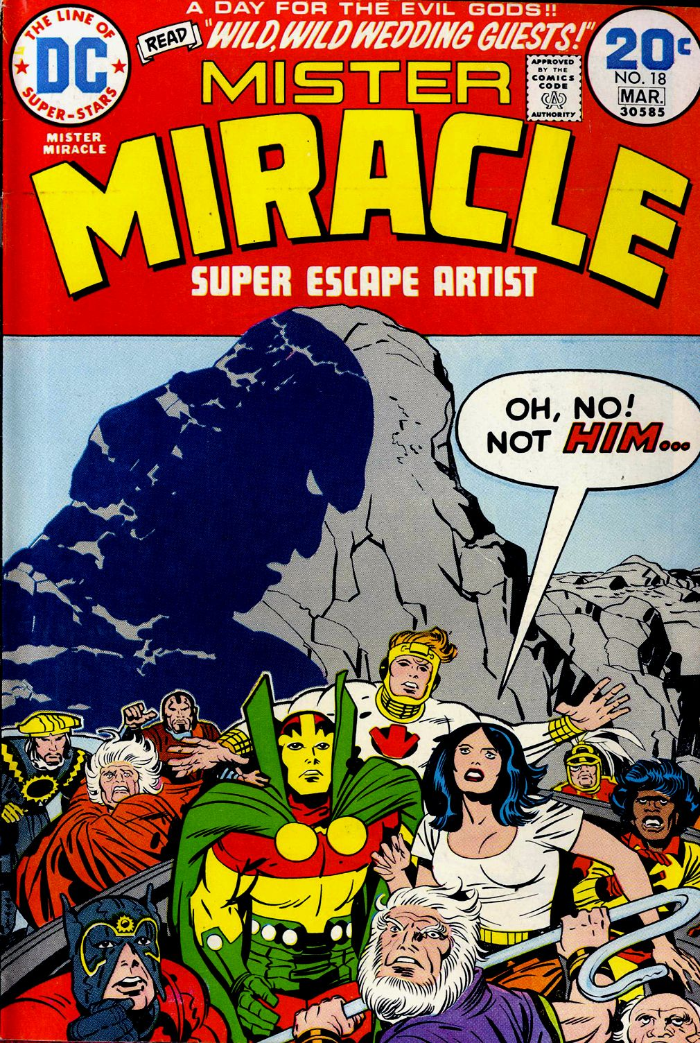 Mister Miracle (1971) issue 18 - Page 1