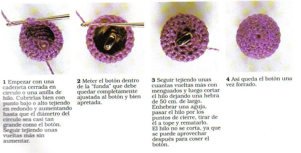 Botones de Crochet para Crochet