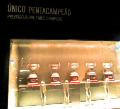 Trofues de Campeão Nacional do FC Porto