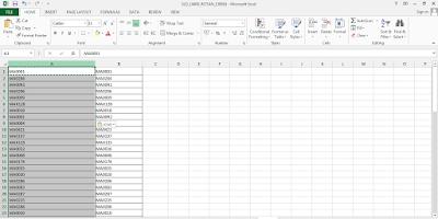 Data Duplikat di excel