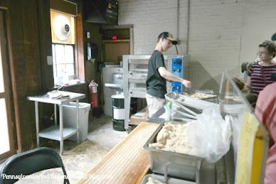 Julius Sturgis Pretzel Bakery in Lititz Pennsylvania