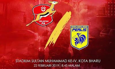 Live Streaming Kelantan vs Perlis Liga Premier 22.2.2019