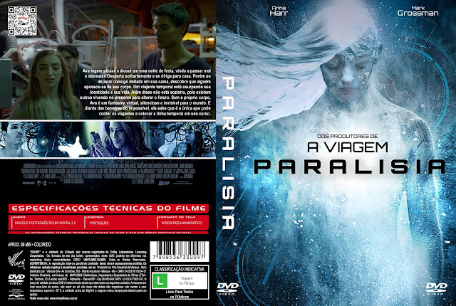 Capa DVD Paralisia [Custom]