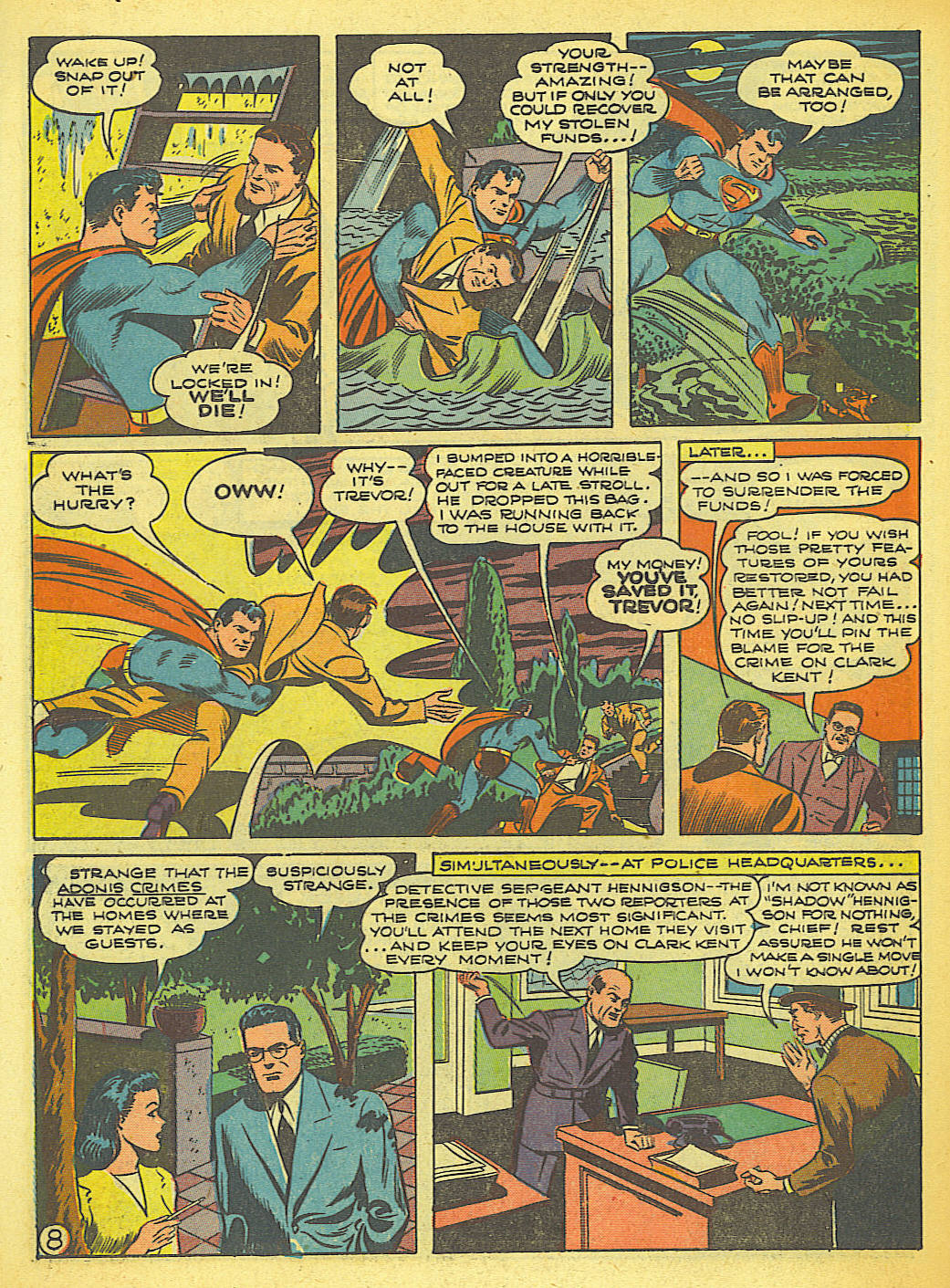 Read online Action Comics (1938) comic -  Issue #58 - 9