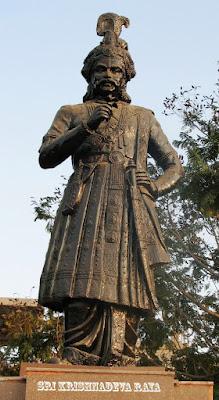 Srikrishnadeva_statue_vijaynagara_empire_tuluva_dynasty