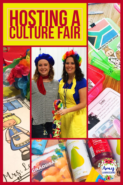 Click here to learn how to host a culture fair with your elementary students.  These fun ideas work for any primary or intermediate classroom.  You'll be able to incorporate reading, writing and social studies together for a unit packed with fun.  Your kindergarten, first, second, third, fourth,  and fifth grade students will loves this activity.  {kindergarten, first, second, third, fourth, fifth grade, homeschool} #culturefair #culture