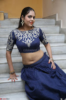Ruchi Pandey in Blue Embrodiery Choli ghagra at Idem Deyyam music launch ~ Celebrities Exclusive Galleries 054.JPG