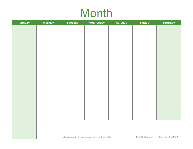 Blank Calendar 2013 - 2014 | 2016 Blank Calendar - calendar en - WWW ...