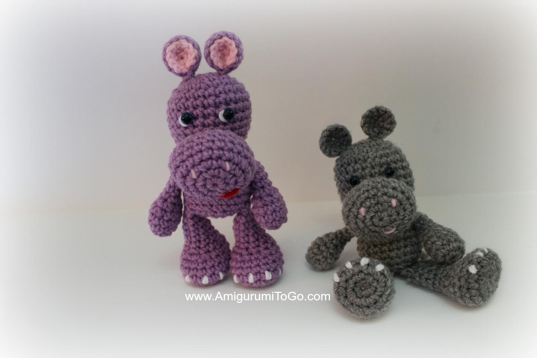 Free Amigurumi Hippo Pattern : The og lbf hippo amigurumi to go