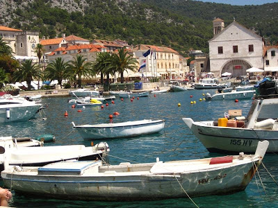 Hvar Town in Croatia