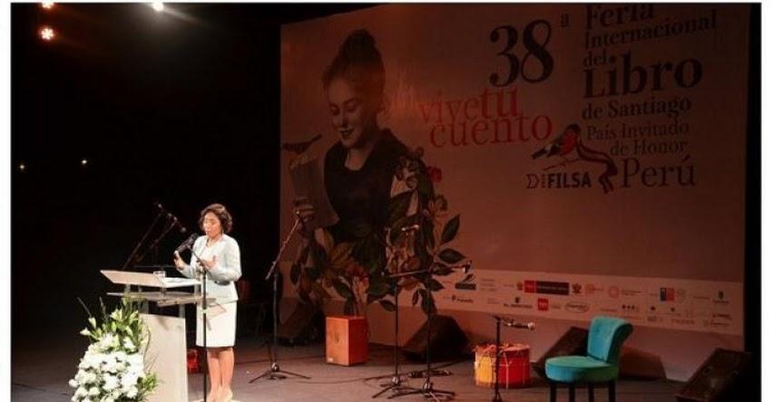 FILSA: Se inició Feria del Libro de Santiago con Perú como invitado de honor en Chile